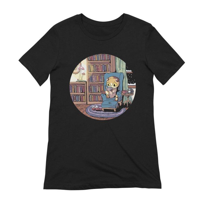 Cozy Evening Women's T-Shirt by Art of Wendy Xu's Artist Shop