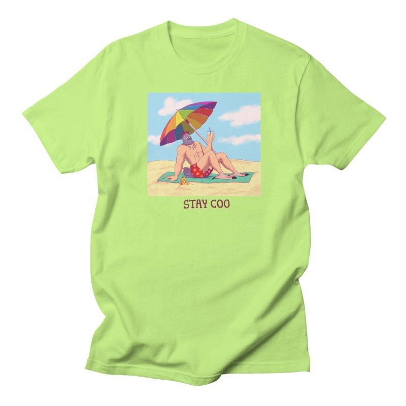 Stay Coo  Men's Regular T-Shirt by artofwendyxu's Artist Shop