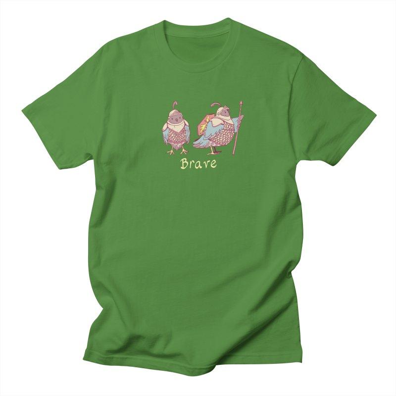 Brave Men's Regular T-Shirt by Art of Wendy Xu's Artist Shop