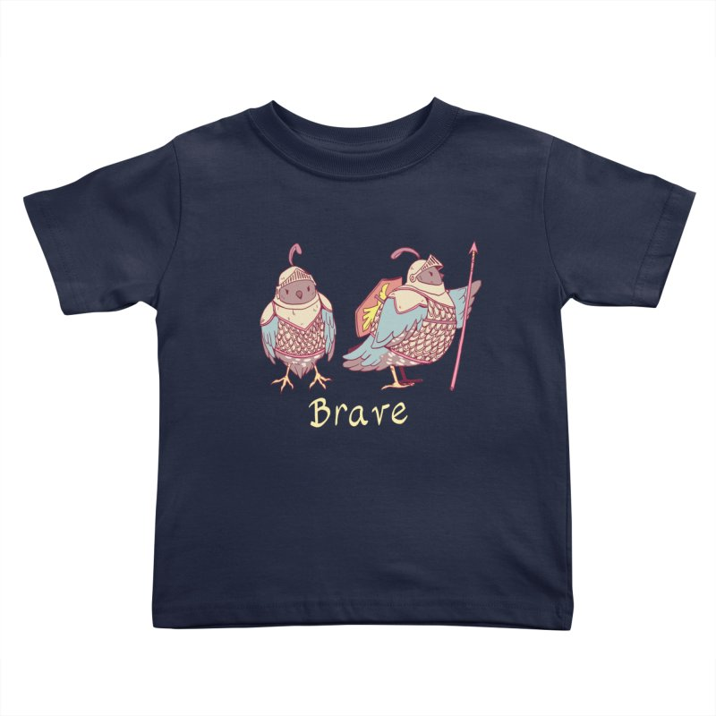 Brave Kids Toddler T-Shirt by Art of Wendy Xu's Artist Shop