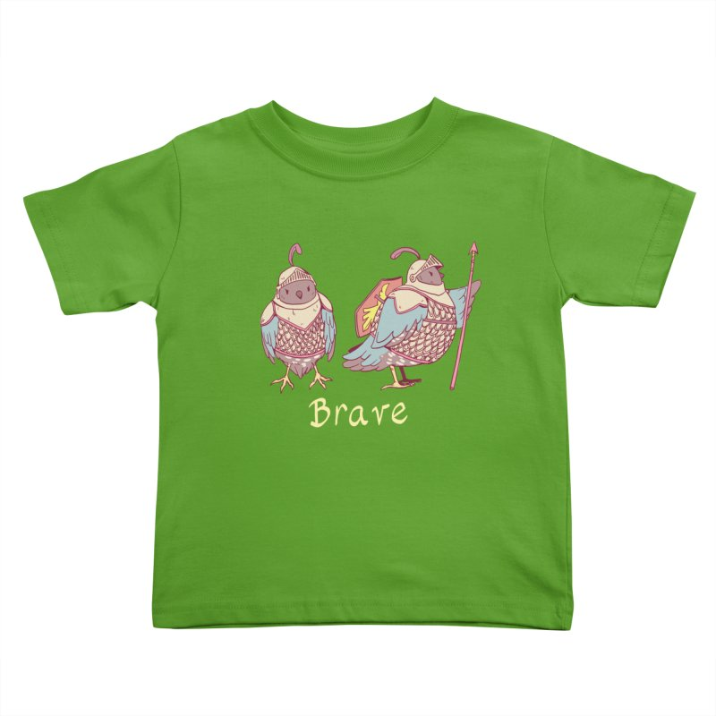 Brave Kids Toddler T-Shirt by Art of Wendy Xu's Artist Shop
