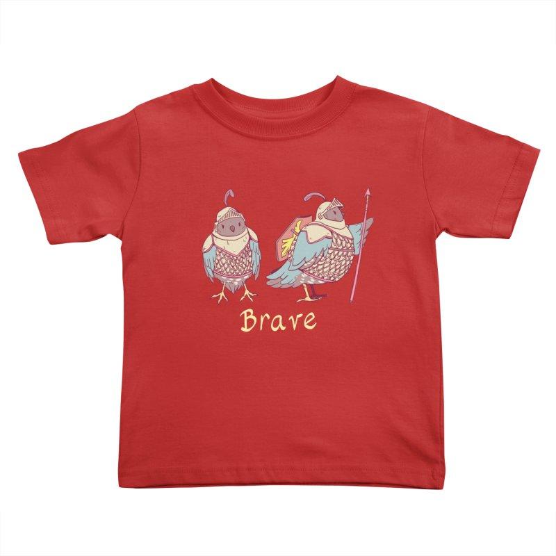 Brave Kids Toddler T-Shirt by artofwendyxu's Artist Shop