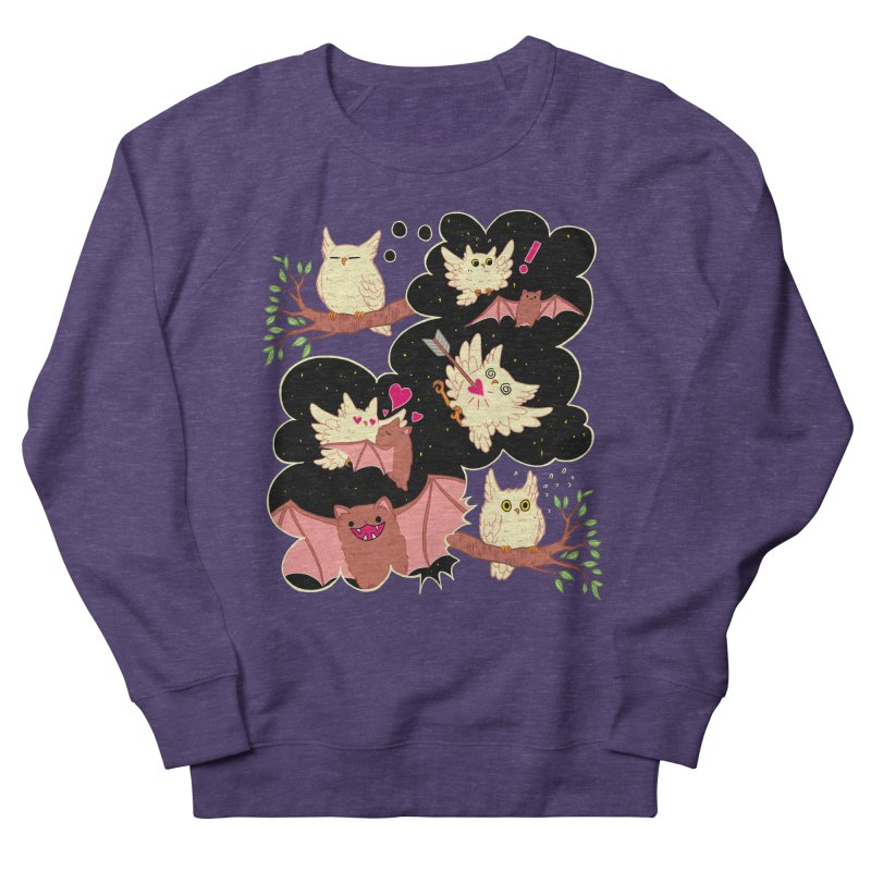 Sweet Dreams  Women's French Terry Sweatshirt by Art of Wendy Xu's Artist Shop