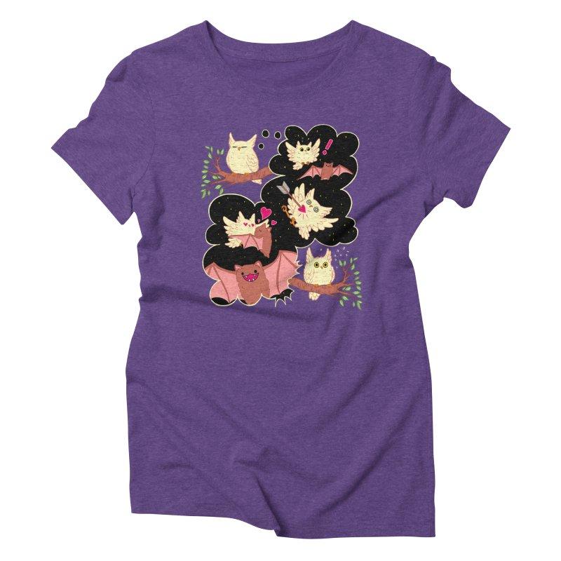 Sweet Dreams  Women's T-Shirt by Art of Wendy Xu's Artist Shop