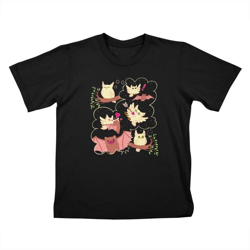 Sweet Dreams  Kids T-Shirt by Art of Wendy Xu's Artist Shop