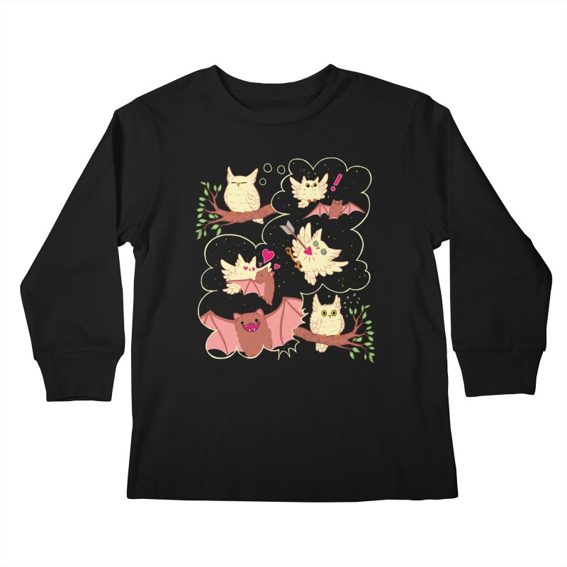 Sweet Dreams  Kids Longsleeve T-Shirt by Art of Wendy Xu's Artist Shop