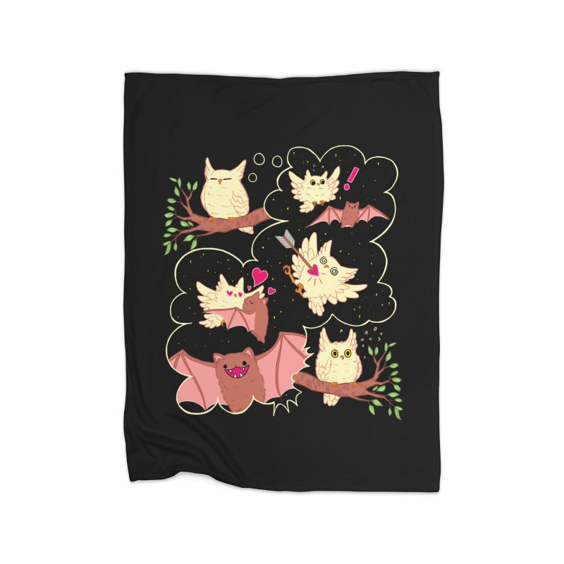Sweet Dreams  Home Blanket by Art of Wendy Xu's Artist Shop