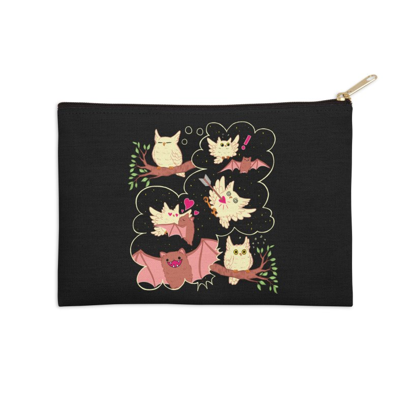 Sweet Dreams  Accessories Zip Pouch by Art of Wendy Xu's Artist Shop