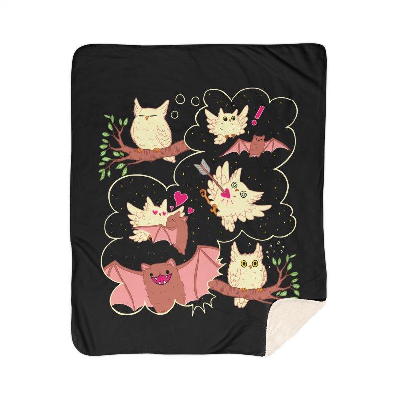 Sweet Dreams  Home Sherpa Blanket Blanket by Art of Wendy Xu's Artist Shop