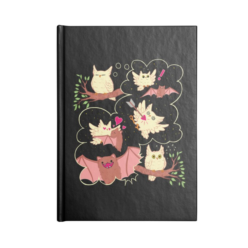 Sweet Dreams  Accessories Lined Journal Notebook by Art of Wendy Xu's Artist Shop