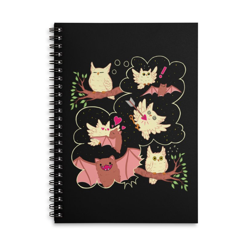 Sweet Dreams  Accessories Lined Spiral Notebook by Art of Wendy Xu's Artist Shop