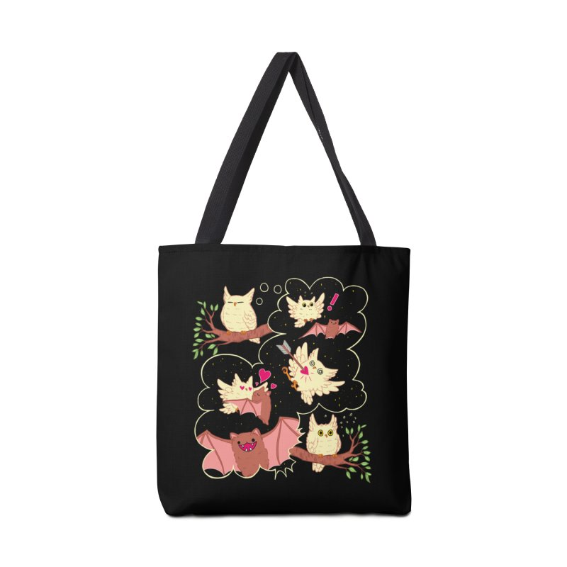 Sweet Dreams  Accessories Tote Bag Bag by Art of Wendy Xu's Artist Shop