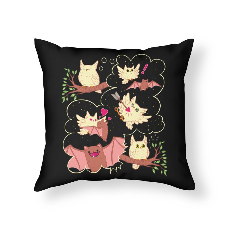 Sweet Dreams  Home Throw Pillow by artofwendyxu's Artist Shop