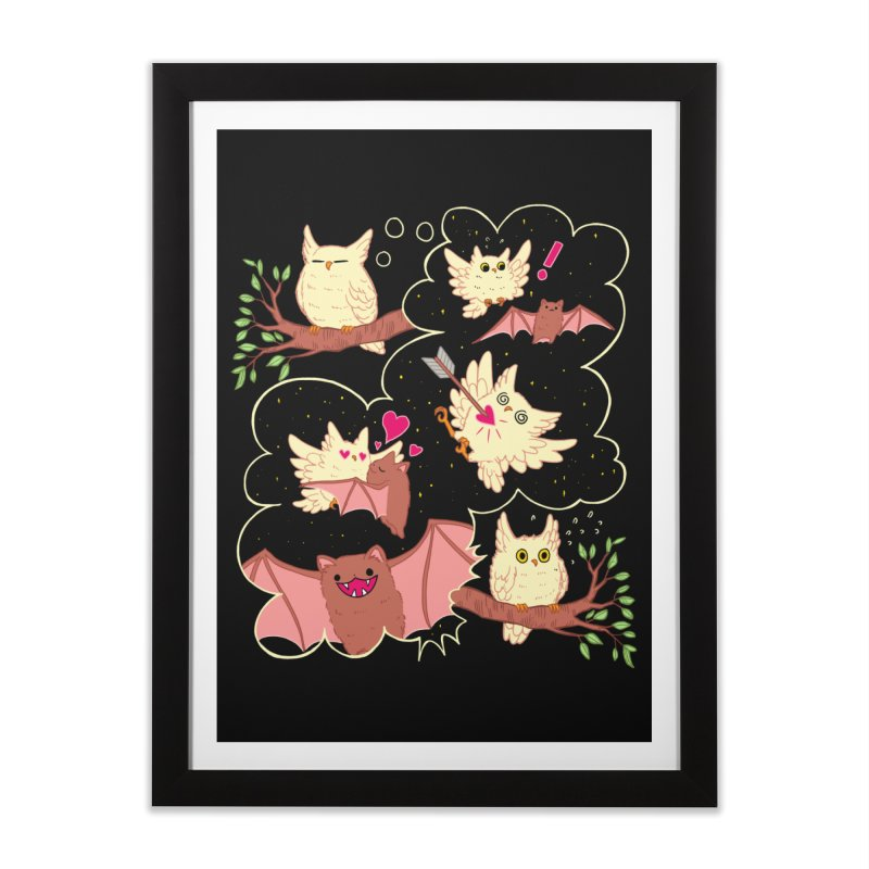 Sweet Dreams  Home Framed Fine Art Print by Art of Wendy Xu's Artist Shop