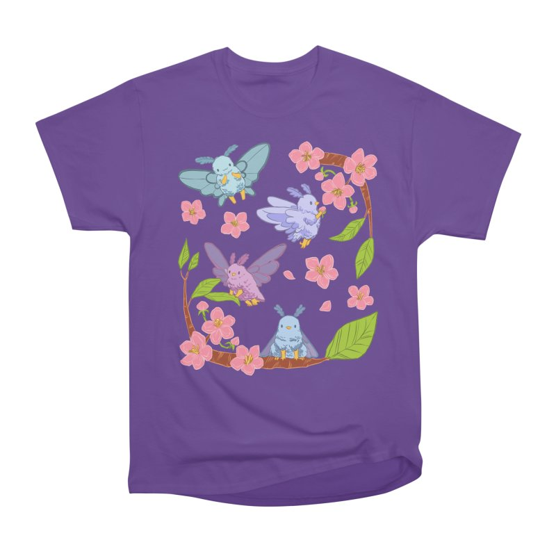 pollination Men's Heavyweight T-Shirt by artofwendyxu's Artist Shop