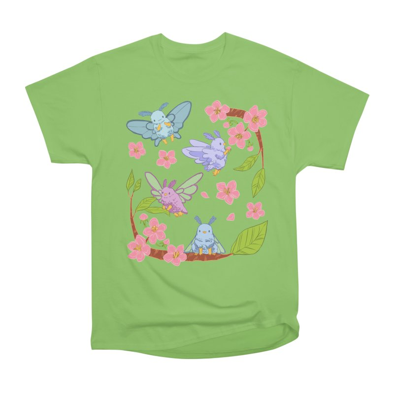 pollination Men's Heavyweight T-Shirt by Art of Wendy Xu's Artist Shop