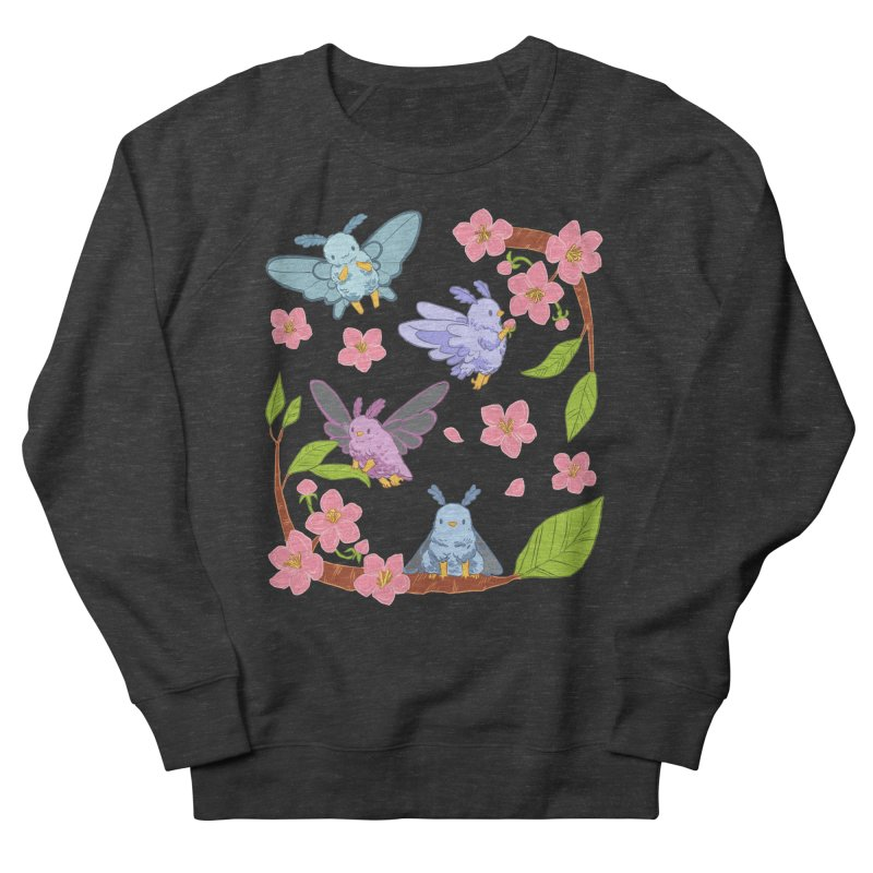 pollination Women's French Terry Sweatshirt by artofwendyxu's Artist Shop