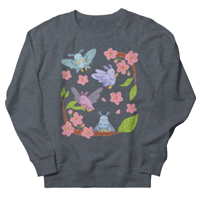 pollination Women's French Terry Sweatshirt by artofwendyxu's Artist Shop