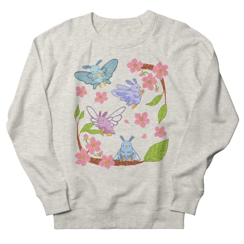 pollination Women's French Terry Sweatshirt by Art of Wendy Xu's Artist Shop