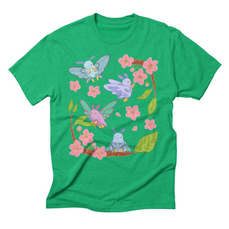 pollination Men's Triblend T-Shirt by artofwendyxu's Artist Shop