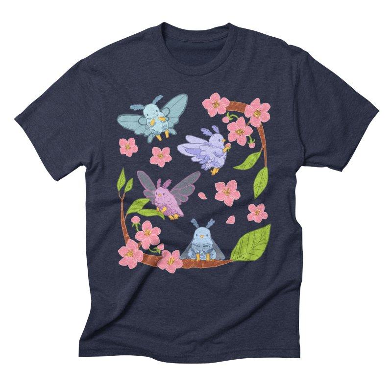 pollination Men's Triblend T-Shirt by artofwendyxu's Artist Shop