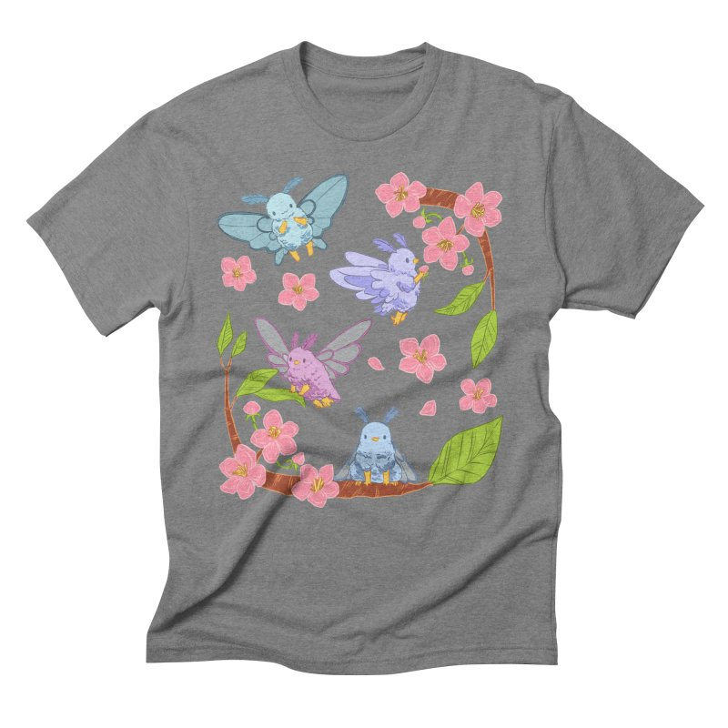 pollination Men's Triblend T-Shirt by Art of Wendy Xu's Artist Shop