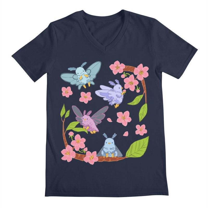 pollination Men's Regular V-Neck by artofwendyxu's Artist Shop