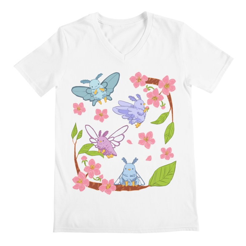 pollination Men's V-Neck by Art of Wendy Xu's Artist Shop