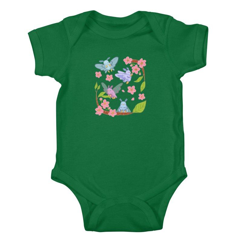 pollination Kids Baby Bodysuit by Art of Wendy Xu's Artist Shop