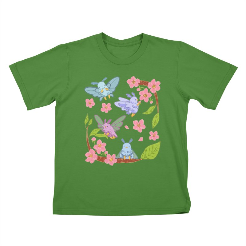 pollination Kids T-Shirt by artofwendyxu's Artist Shop