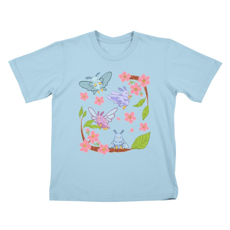 pollination Kids T-Shirt by Art of Wendy Xu's Artist Shop