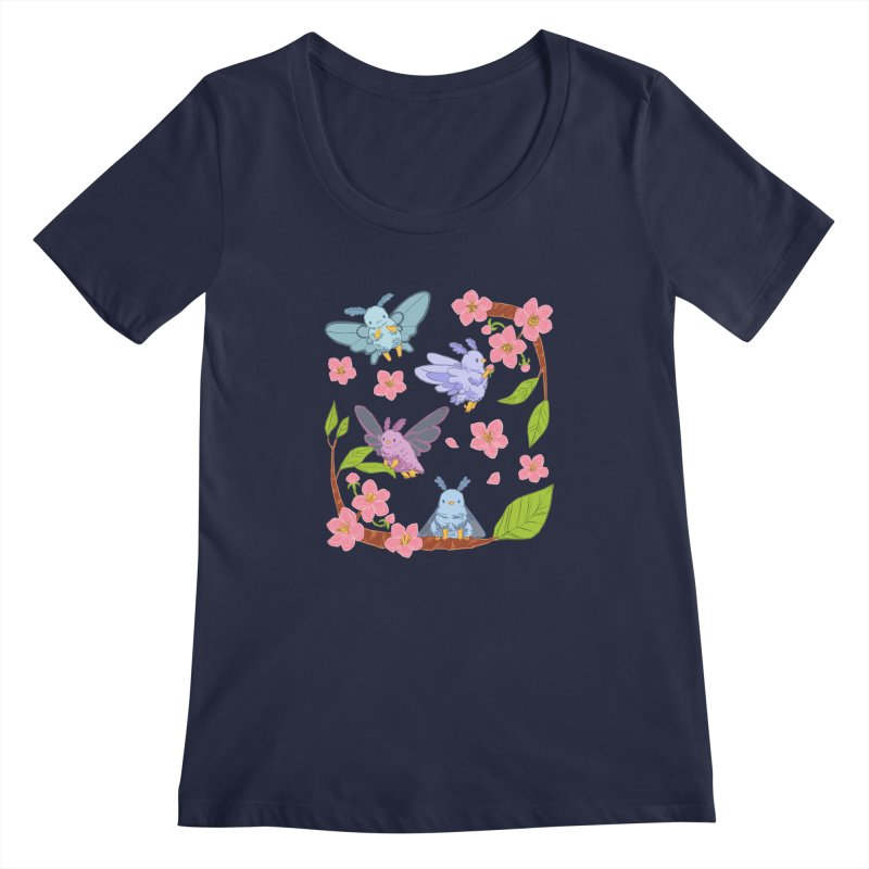 pollination Women's Regular Scoop Neck by artofwendyxu's Artist Shop