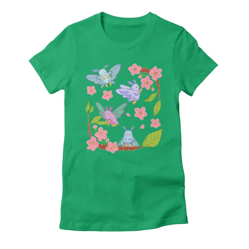 pollination Women's Fitted T-Shirt by artofwendyxu's Artist Shop