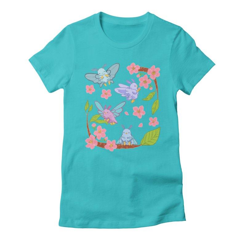 pollination Women's Fitted T-Shirt by artofwendyxu's Artist Shop