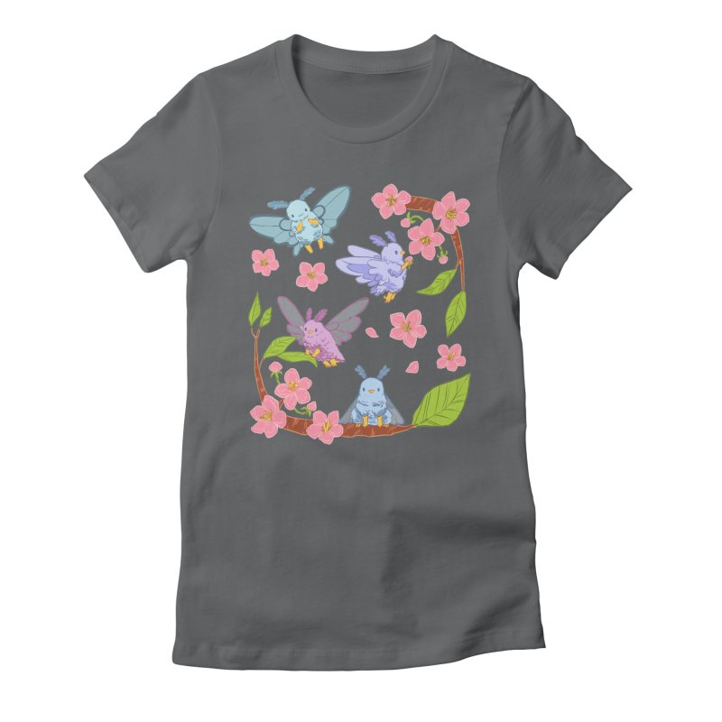 pollination Women's Fitted T-Shirt by Art of Wendy Xu's Artist Shop