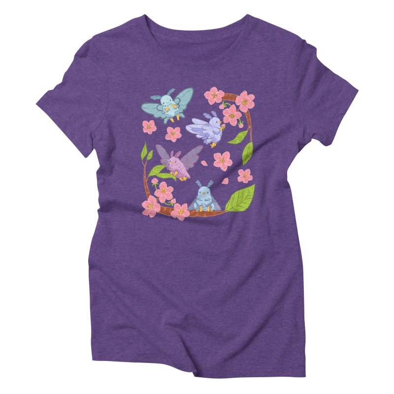 pollination Women's Triblend T-Shirt by artofwendyxu's Artist Shop