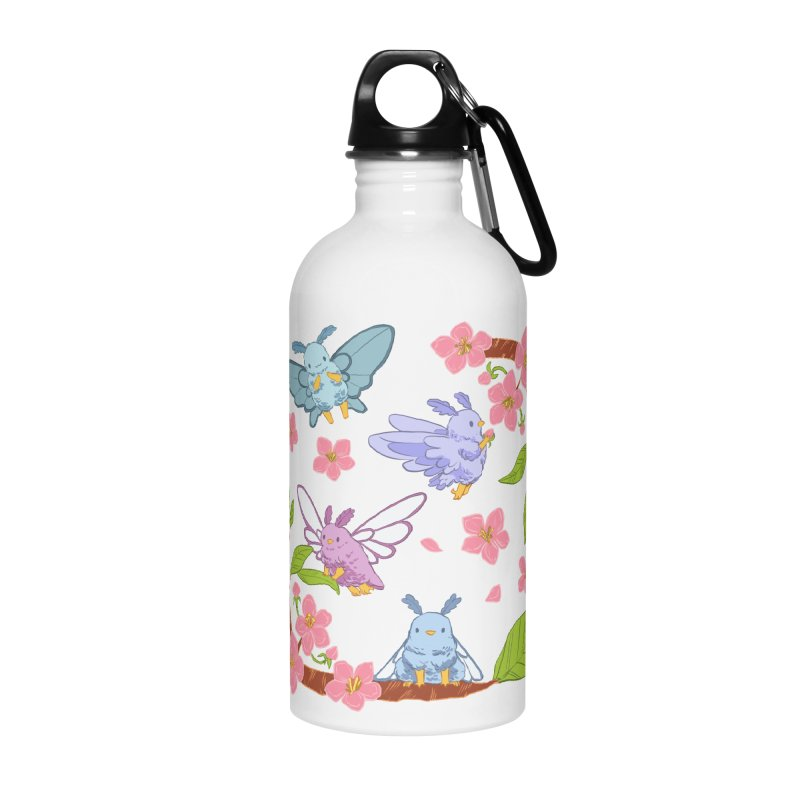 pollination Accessories Water Bottle by artofwendyxu's Artist Shop
