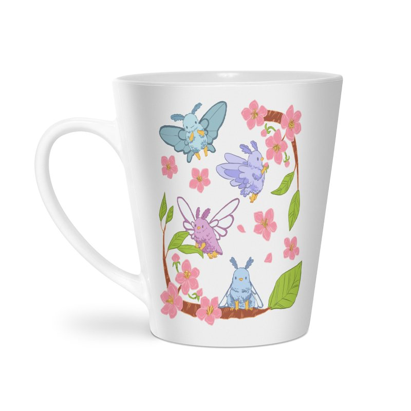 pollination Accessories Latte Mug by Art of Wendy Xu's Artist Shop
