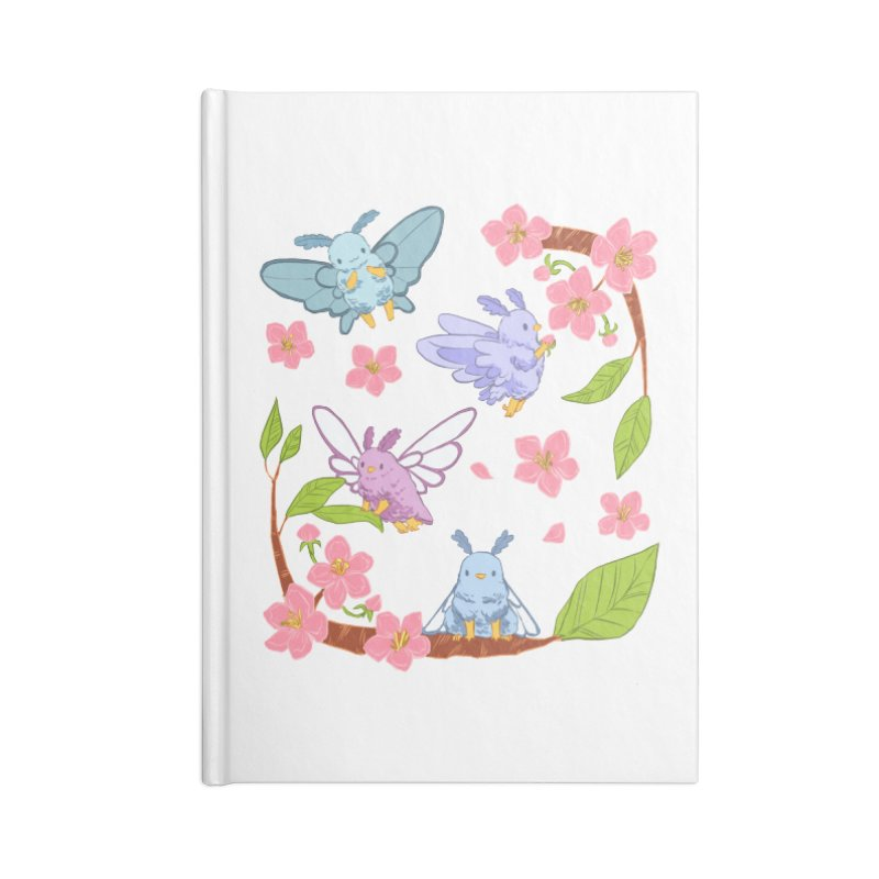 pollination Accessories Lined Journal Notebook by Art of Wendy Xu's Artist Shop