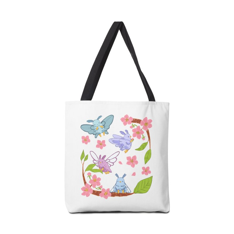 pollination Accessories Tote Bag Bag by Art of Wendy Xu's Artist Shop