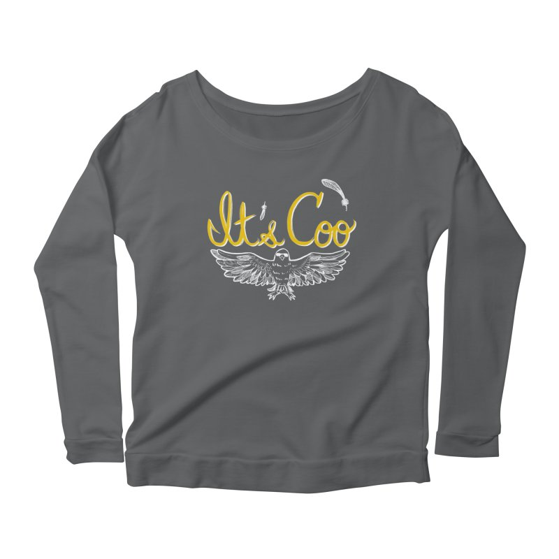 It's Coo Women's Scoop Neck Longsleeve T-Shirt by Art of Wendy Xu's Artist Shop
