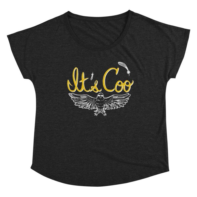 It's Coo Women's Dolman Scoop Neck by Art of Wendy Xu's Artist Shop