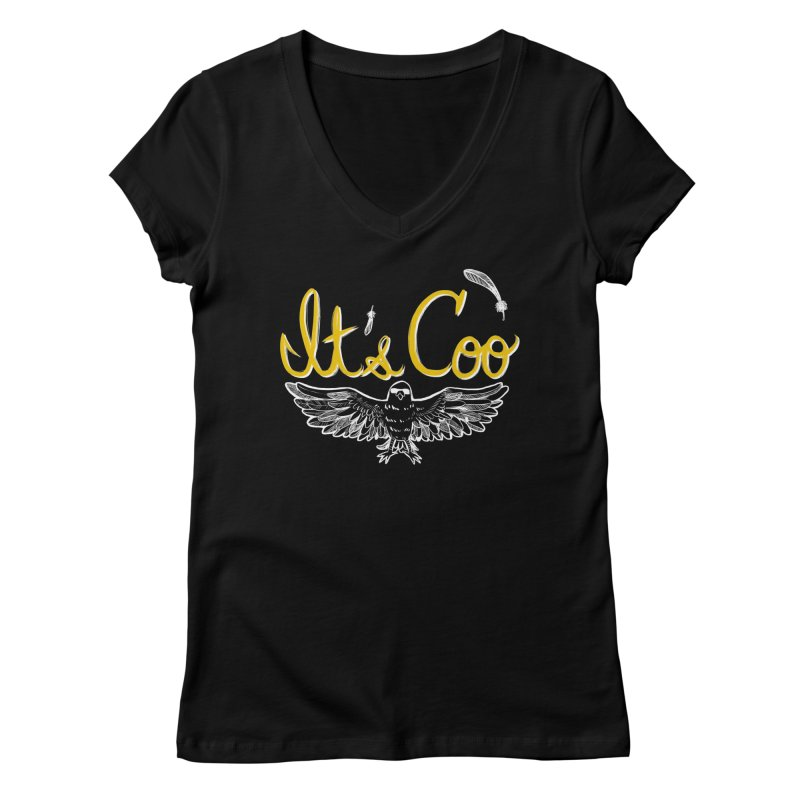 It's Coo Women's V-Neck by Art of Wendy Xu's Artist Shop