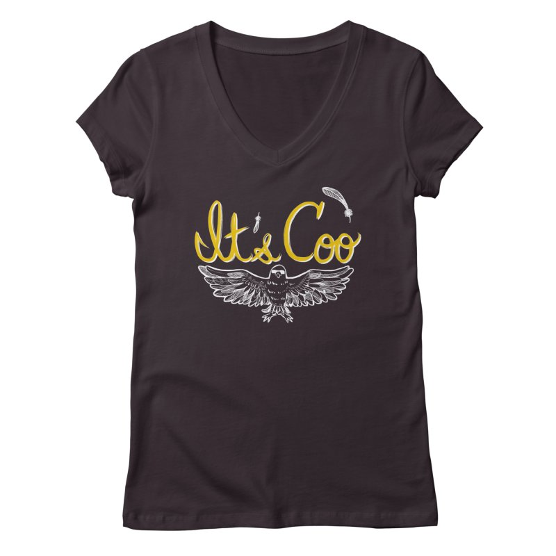 It's Coo Women's Regular V-Neck by Art of Wendy Xu's Artist Shop