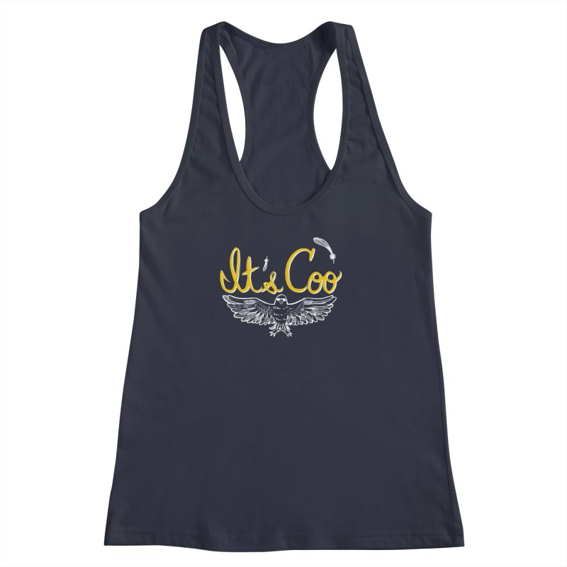 It's Coo Women's Racerback Tank by Art of Wendy Xu's Artist Shop