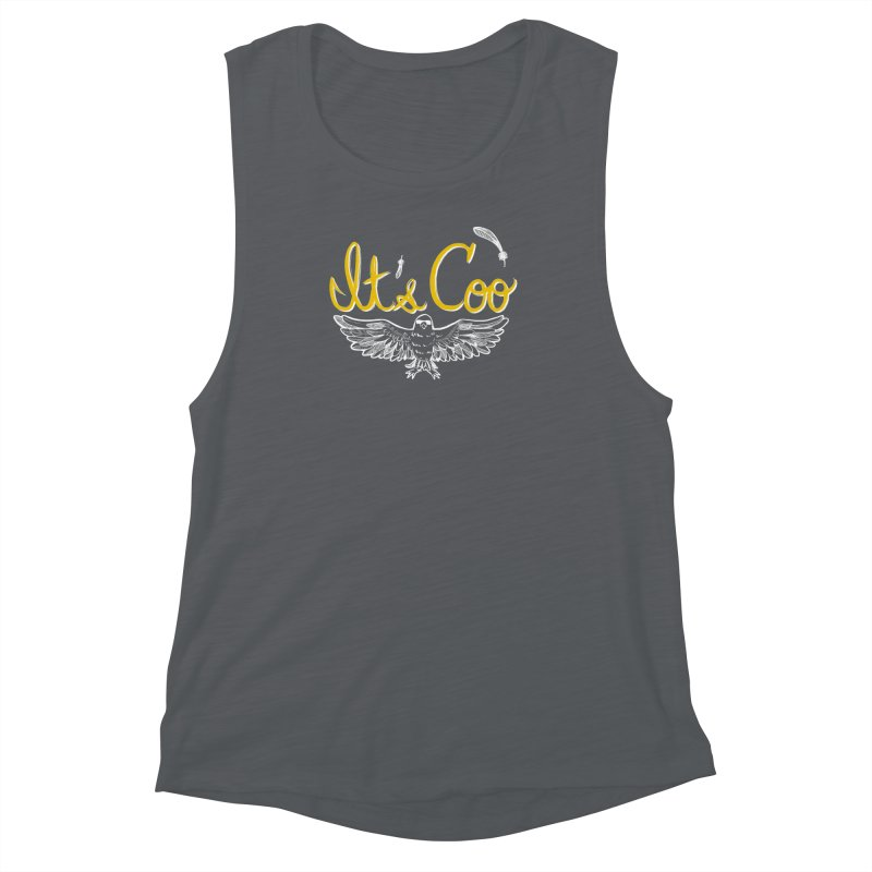 It's Coo Women's Muscle Tank by artofwendyxu's Artist Shop