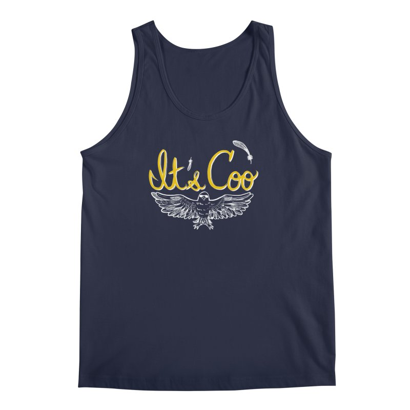 It's Coo Men's Regular Tank by artofwendyxu's Artist Shop