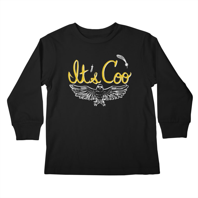 It's Coo Kids Longsleeve T-Shirt by Art of Wendy Xu's Artist Shop