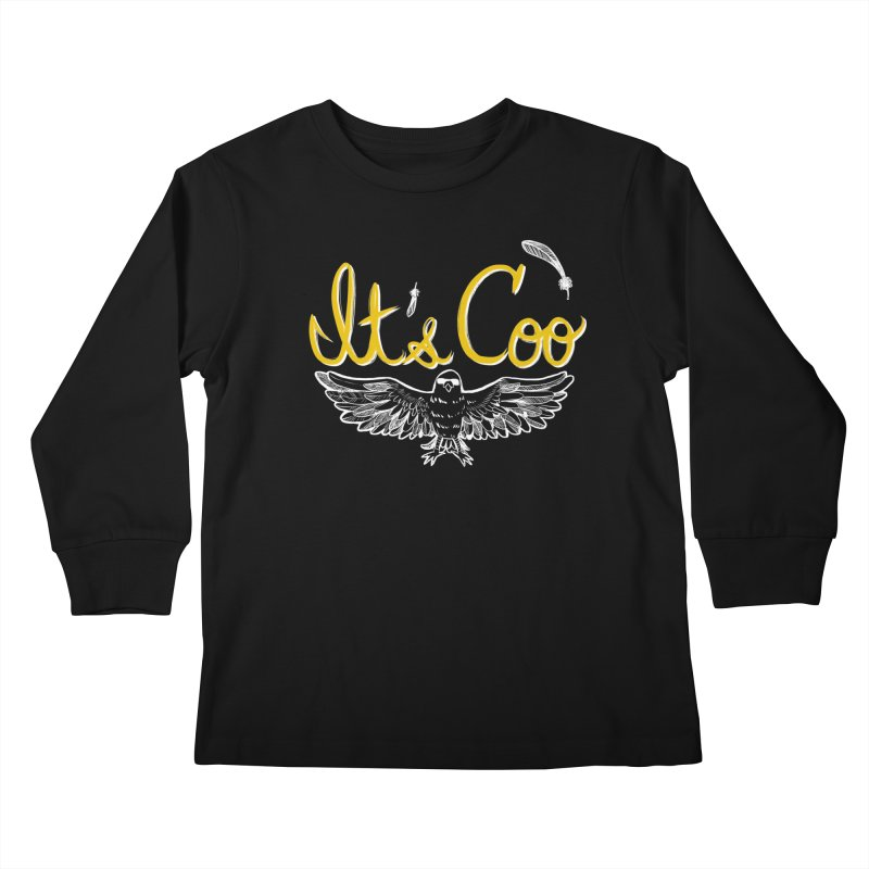 It's Coo Kids Longsleeve T-Shirt by Art of Wendy Xu's Artist Shop