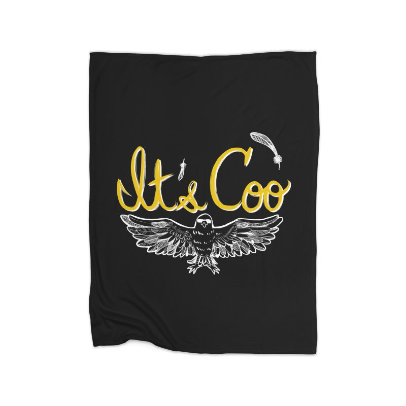 It's Coo Home Blanket by Art of Wendy Xu's Artist Shop